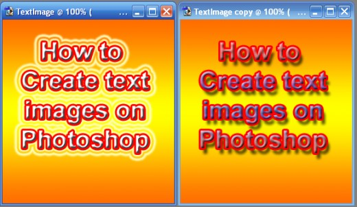 Text images samples