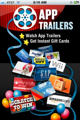 "Make money with an app called AppTrailers on your iPhone or Android phone! Use my code ""Coatblue8"" when you sign up and you'll get an extra 1000 points!"