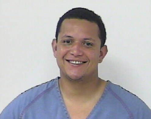 Mugshot of Miggy after being arrested for DWI.