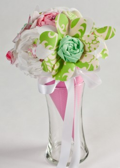 Make your own Fabric Bouquet