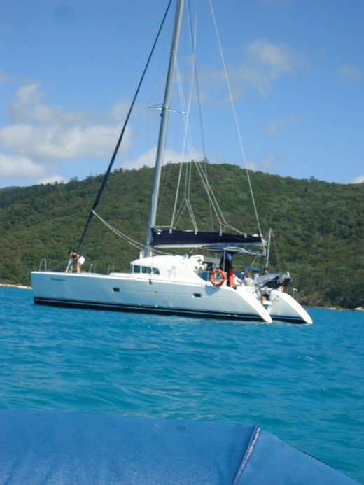 We chose Whitsunday Catamarans to cruise the Whitsundays with.