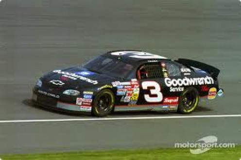 Dale Earnhardt died in a car crash while racing. He is a legend of the sport. R.I.P.