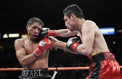 Rafael Marquez can take a shot as well as deliver one as he demonstrated in his wars with Israel Vazquez.
