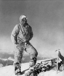 Lino Lacedelli on the summit of K2. 1954.