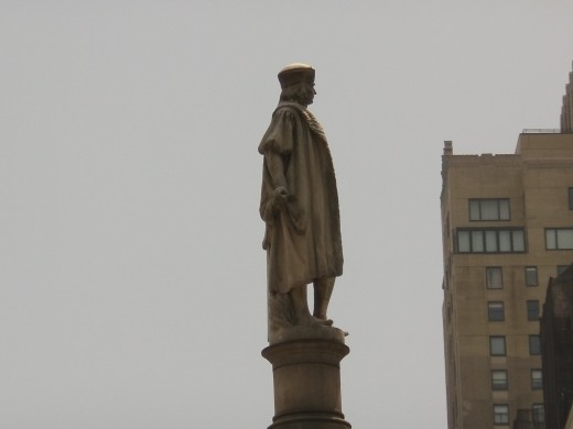 Mr Columbus Himself - 59th Street Columbus Circle