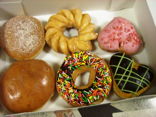 Krispy Kreme started out on the east coast but has recently debuted in Tokyo.  Mm, those donuts look good!