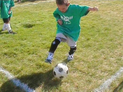Play Soccer!
