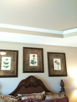 On a tight budget? Decorate with DIY crown molding to change the look of any room.