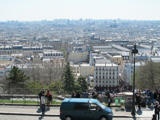 View of Paris from Sacre-Coeur