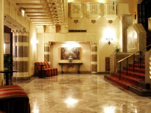 InterContinental Lobby Hall of Lions.