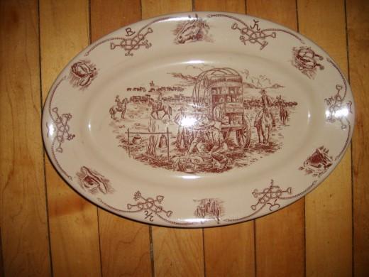 Beautiful Shenango Platter