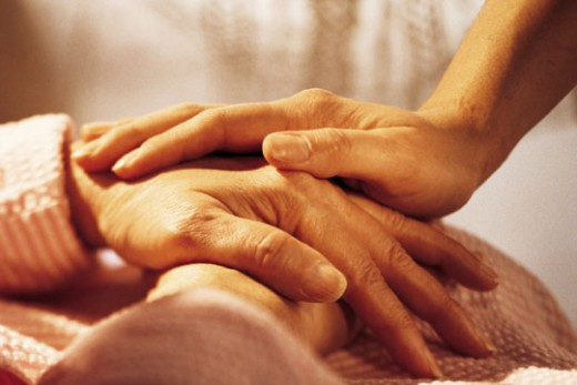 Caregiving needs loving hands and hearts.