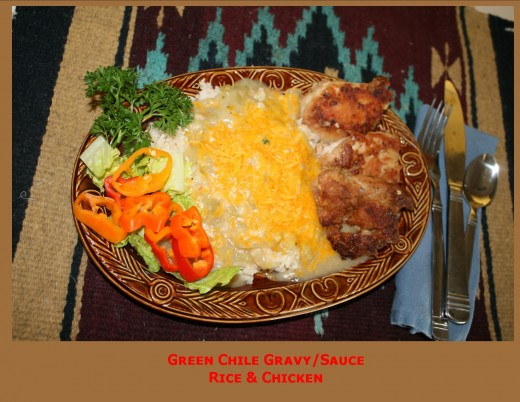 Hatch Green Chile Sauce/Gravy