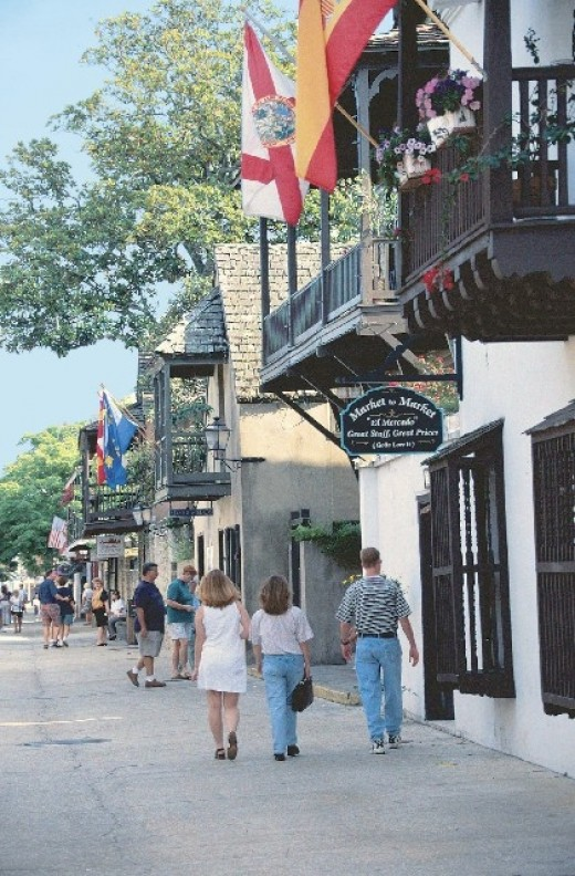Saint Augustine Florida is said to be one of if not America's most haunted cities.