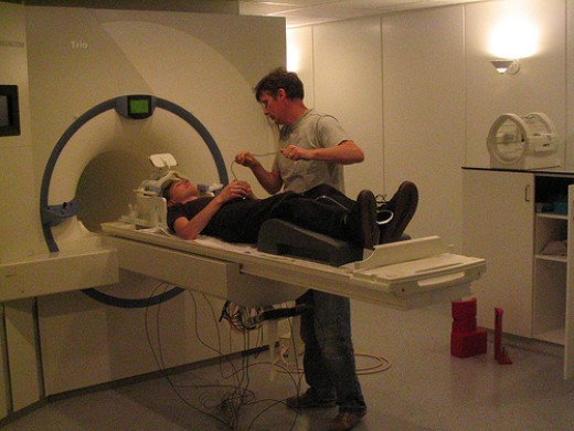 People who suffer with claustrophobia have a very hard time in scan machines