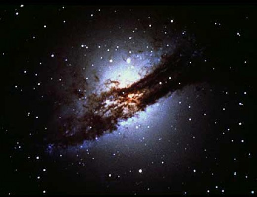 Elliptical galaxies have an overall lack of form and are made up mostly of old stars.