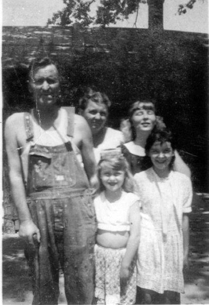 Here is a Georgia family in the late 1940's