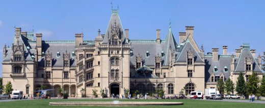 The Biltmore Estate was built in 1895, and took 6 years to complete.