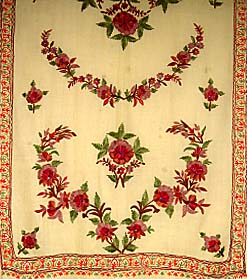 example of kashimiri embroidery