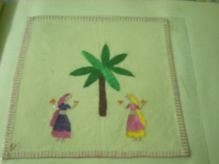 Indian Embroidery-Chamba Rumal