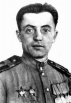 "WWII: Yakov Fedotovich Pavlov (October 4, 1917 - September 29, 1981) was a Hero of the Soviet Union (June 27, 1945) for his heroism defending ""Pavlov's House"" during the Battle of Stalingrad. 1945."