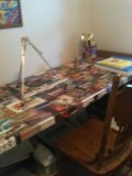 How To Decoupage a Table Easily
