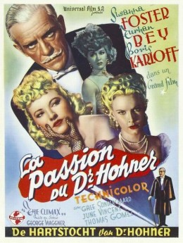 The Climax (1944) Belgian poster