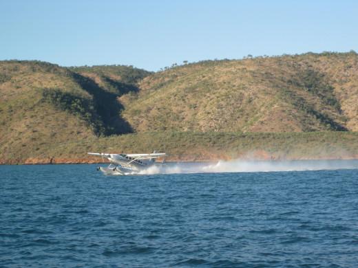 Flying in a seaplane was on my bucket list & I loved it !