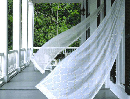 Airing out your home every day for at least one hour means you breath better and get rid of odor in the process.