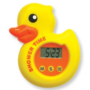 Shower timers are a great learning tool for kids!