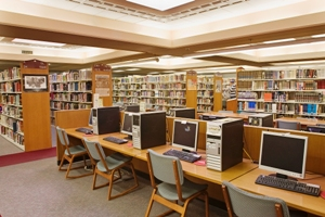 Libraries are also good for at least one hour on their internet.  Good to keep in mind.
