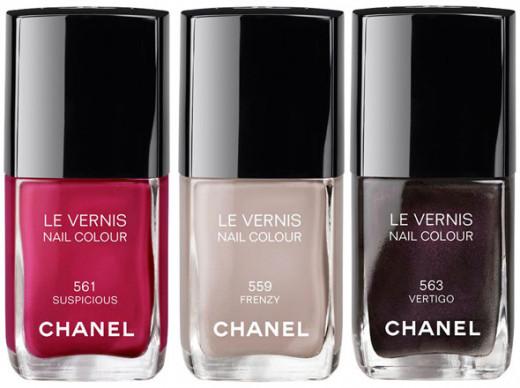 Chanel Suspicious, Frenzy, Vertigo.