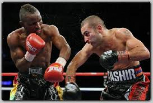 Vic Darchinyan is named The Raging Bull. He fought with a certain attitude and he had tenacity. He could box but usually he preferred to try and score the knockout which morph times than not paid off for this wily character.