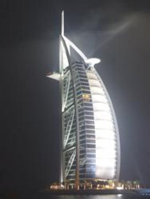 Burj Al Arab, Dubai, UAE.