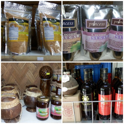 Coconut Sap, Sugar, Jam and Wine