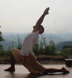 Yoga can be practiced any where, any time.  There is always a pose for every occasion and the right iPhone yoga app can help you find it.
