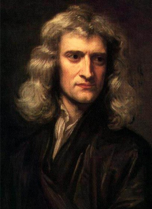 Isaac Newton was cool but he was brilliant scientist