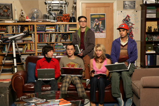 "This is the way scientists are often portrayed as seen in the characters from ""The Big Bang Theory"": geeky, bookish, crazy and nerdy."