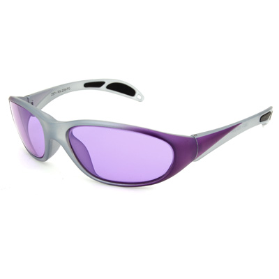 New style safety glasses. They come in many colors and styles. This also looks like something Michael Phelps worn during the Olympics.