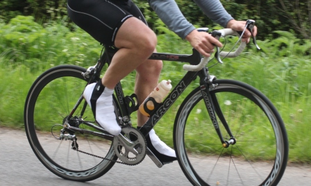 Use bike drills on the turbo trainer or open road to improve your pedalling effiency. Consider using single leg drills with one leg 'along for the ride' while the other takes control
