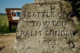 Cruder memorial to the slain at Towton