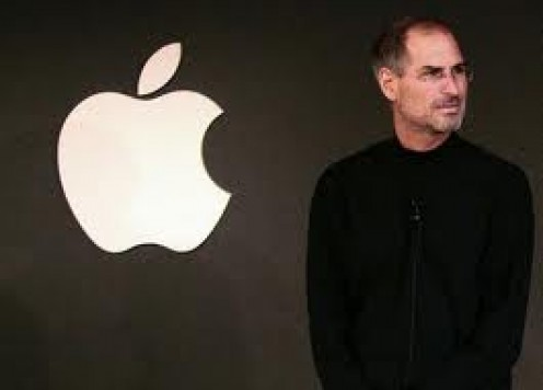Steve Jobs helped invent Apple and then he saved them from the bottom and now they reside at the top.