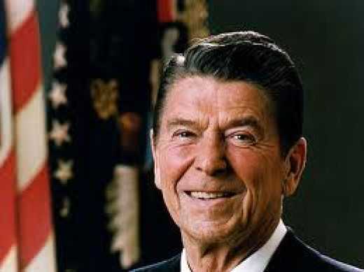 Ronald Reagan was a two tern President of the United States of America and also the former Governor of California.