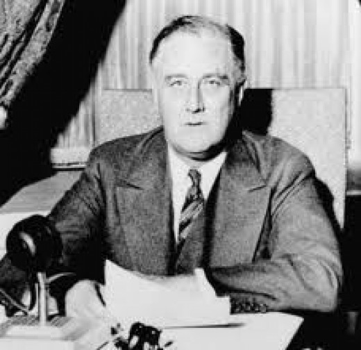 Franklin Roosevelt presided over World War 2 and was a truly loved President and the only U.S. President to serve more than two terms.
