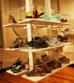 Sneakers come in all colors and many styles