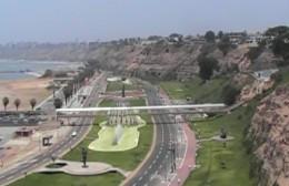 Lima-Peru, down the beach.
