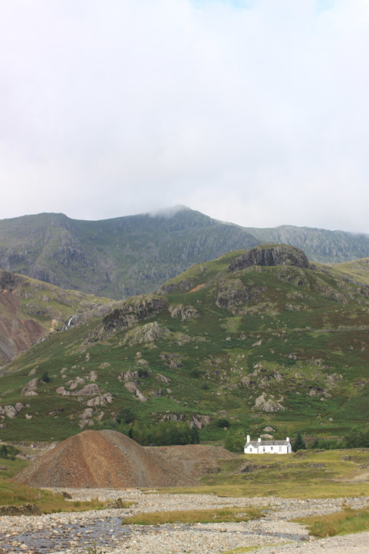 Coppermines YHA Coniston at the foot of the Coniston Fells.