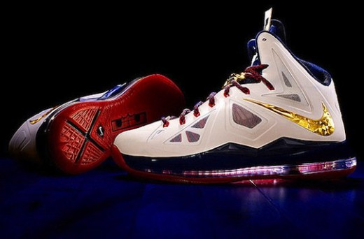 LeBron's James' LebronX (estimated cost: $300)