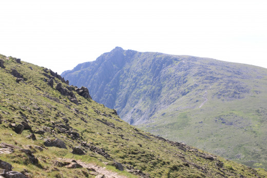 Dow Crag in the distance