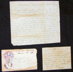 Letters Home from a Civil War Soldier